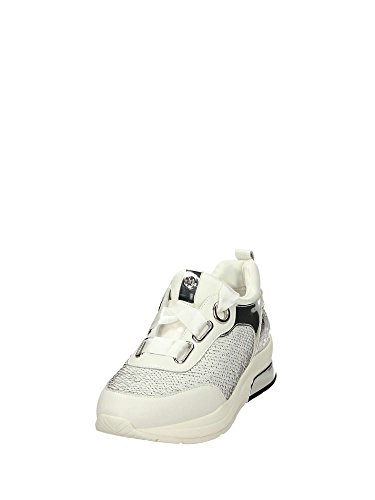 Jo B18013 Senakers T2026 da Bianco MainApps in Pelle Liu White Snow Donna TZpdTRq