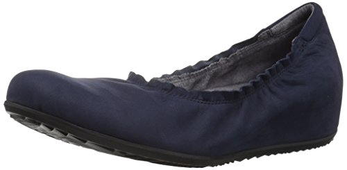 SoftWalk Womens Wish Flat Navy