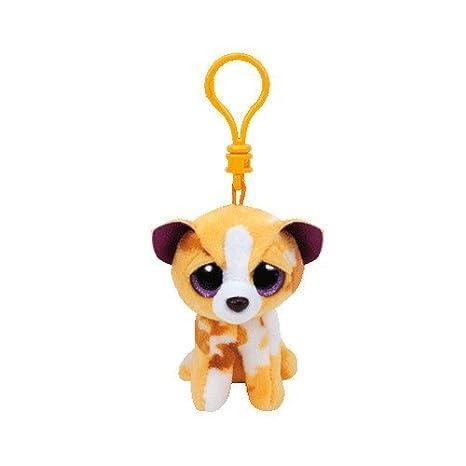 Carletto Ty 35007 - Pablo Clip, Chihuahua con Brillo los Ojos Glubschis, Beanie Boos, 8,5 cm, de Color marrón: Amazon.es: Juguetes y juegos