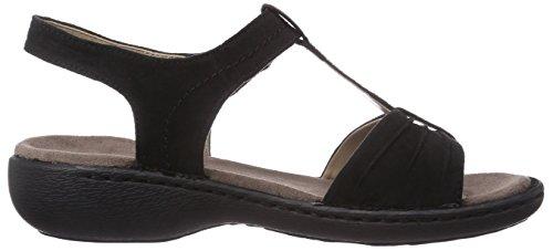 Jenny Korsika - Sandalias de vestir de material sintético para mujer negro - Schwarz (schwarz 01)
