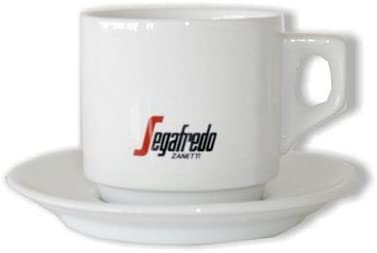 Segafredo Espresso Cup & Saucer