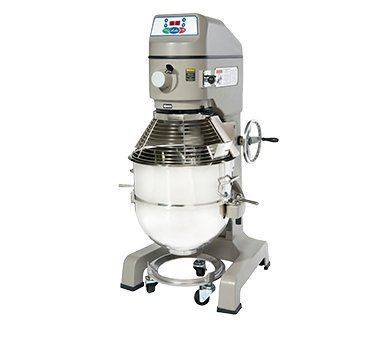 Globe Stainless Steel Bowl Electric Floor Model 60 Quart Planetary Mixer - Select Option: ()