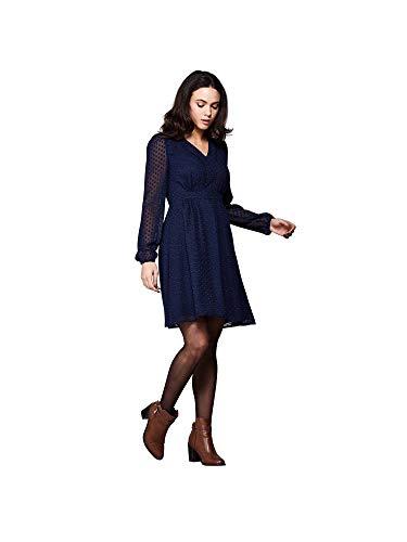Marino Vestido Oscuro Para Dobby Azul Mujer Spot Yumi TfYWzqw