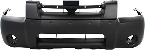 Front Bumper Cover Compatible with 2001-2004 Nissan Frontier Primed