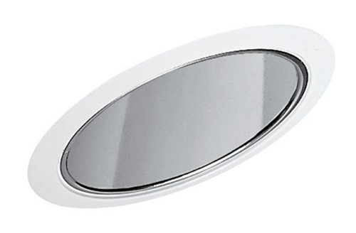 Standard Slope Trims (Juno Lighting 612C-WH 6-Inch Standard Slope Downlight Reflector Cone, Clear Alzak with White Trim by Juno Lighting Group)