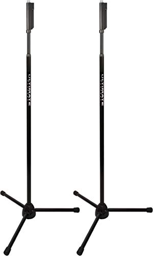 2 PACK Ultimate Support Live Series MC-66B One-hand, Tripod Base, Standard Height (One Tripod Hand Base)