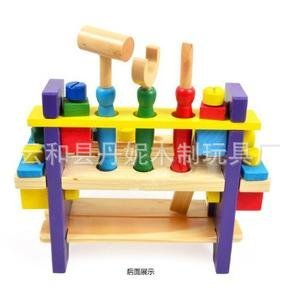 Amazon.com: geometeric montaje mesa infantil de madera DIY ...
