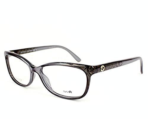 c6c7eb58f Gucci GG3699 Eyeglasses-0G2D Black Gray Diamond -54mm