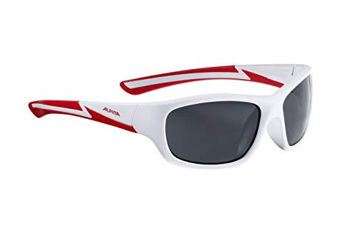 Alpina all'aria Youth per opaco Kids aperta rosso Occhiali Bianco sole sport Flexxy da 8rZwq8