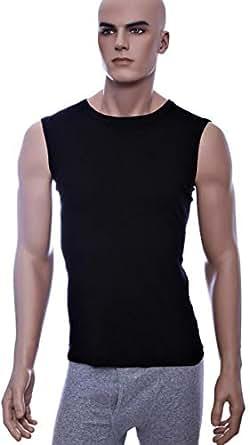 John Gladstone Black Under Shirt For Men