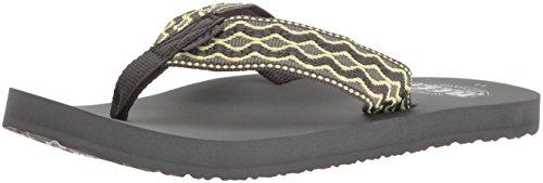 reef-mens-smoothy-sandal-grey-yellow-11-m-us
