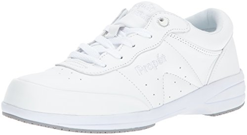 Propet Women's Washable Walker Walking Shoe, Sr White, 8.5 W US (Washable Shoes Walker)