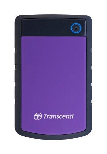 Transcend Storejet 2TB Portable USB 3.0 Hard Disk (TS2TSJ25H3P)