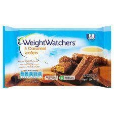 Weight Watchers Caramel Wafers X 5 92G