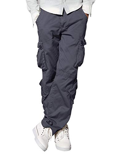 - Match Men's Cargo Pants(32,6053 Gray)
