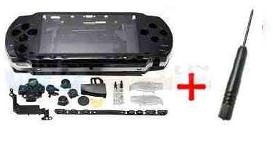 Black Housing Shell Case SONY PSP 1000 1003 1004