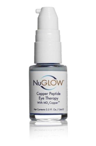 Finest Медь пептид терапия для глаз + Антиоксиданты и MD3 меди разработаны для обеспечения дополнительного повышения здоровья Essential меди с кожей вокруг глаз. Идеально подходит для стирания гусиные лапки. NuGlow®