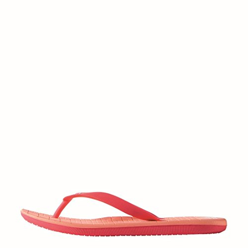 adidas Damen Eezay CF W Flip-Flops Rot, Weiß, Rosa (Brisol / Ftwbla / Rojimp)