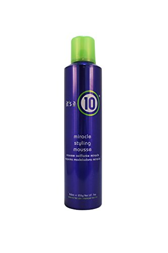 ITS A 10 MIRACLE STYLING MOUSSE 9 OZ UNISEX by It's a 10