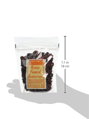 Trader Joe's Dried Fruit: Orange Flavored Cranberries, 8 ounce bags, Set of 4 by Trader Joe (Image #4)'
