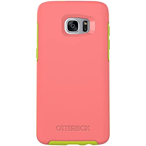 OtterBox SYMMETRY SERIES Case for Samsung Galaxy S7 Edge - Retail Packaging - MELON CANDY (CANDY PINK/CITRON GREEN) Sales