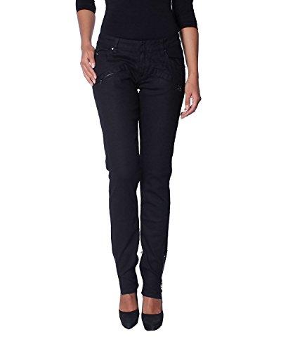 5M7030 Balmain Basse Jean pour Taille Femme 28473 Pierre 900 Noir Bd6YqxY