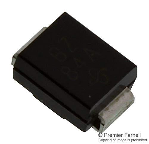 SMBJ24CA-E3/52 - TVS Diode, SMBJ Series, Bidirectional, 24 V, 38.9 V, DO-214AA, 2 Pins (SMBJ24CA-E3/52) (Pack of 50)
