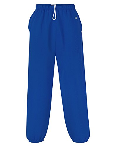 Champion Cotton Tights (Champion Men's Cotton Max Fleece Pant, Sport Royal (XX-Large))