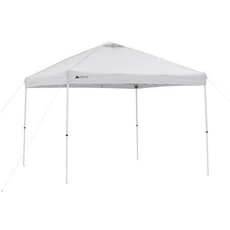 Ozark Trail.. 10 x 10 Straight Leg Instant Canopy (Light Grey)