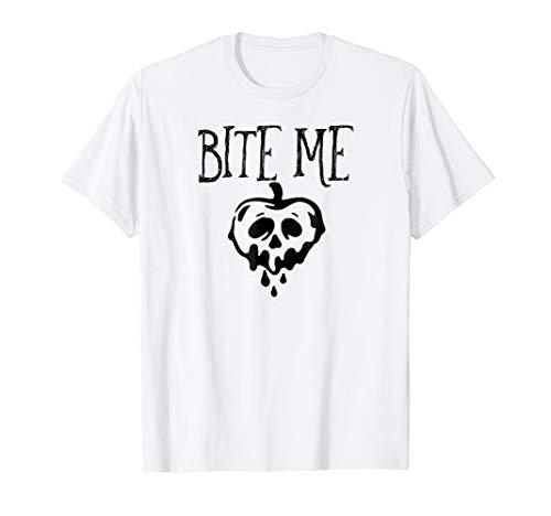 Bite Me Funny Halloween Poison Apple T-Shirt ()