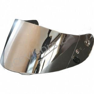Helmet Silver Shield (SILVER ~ HJC Helmet Visor Face Shield HJ-09 CL-15, CL-SP, CS-R1, CS-R2 FS-15 CL-16 AC-12 IS-16, Kawasaki ZX ZXSP, Joe Rocket 101 201 (Silver))