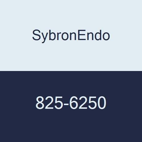 SybronEndo 825-6250 K3 NiTi Endo File, 0.06 mm Taper, Orange Taper, #25 Tip Size, Red Tip Color, Nickel-Titanium, 30 mm Length (Pack of 6)