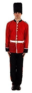 [Busby Queens Guard Costume One Size by Henbrandt] (Queens Guard Costume)