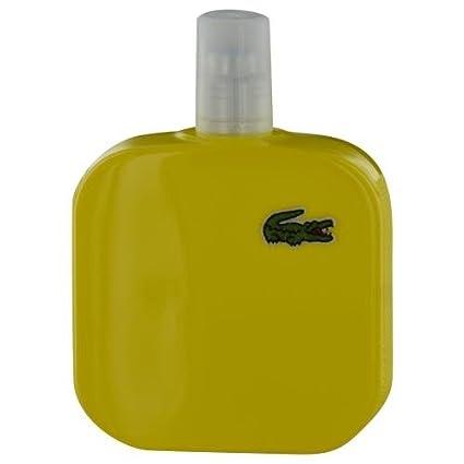 Lacoste eau de lacoste l.12.12 yellow eau de toilette tester 100ml vaporizador
