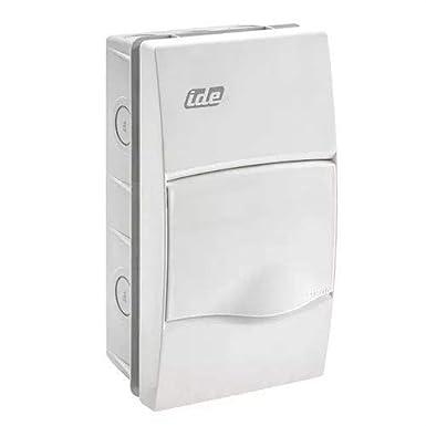 IDE BM4PO IP40 Caja de Distribución de Empotrar, Blanco, 228mm x 120mm x 65mm: Amazon.es: Industria, empresas y ciencia