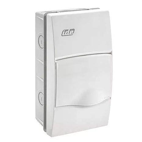 IDE BM4PO IP40 Caja de Distribución de Empotrar, Blanco, 228mm x ...