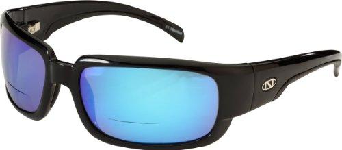 ONOS Araya Polarized Sunglasses (+1.75 Add Power), Black,...