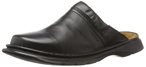Josef Seibel Max, Men's Clogs and Mules Black (Black 37600)