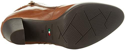 Bottes Femme Leather Cuoio Classiques Beige Giardini Nero 400 Manolete q4ttF