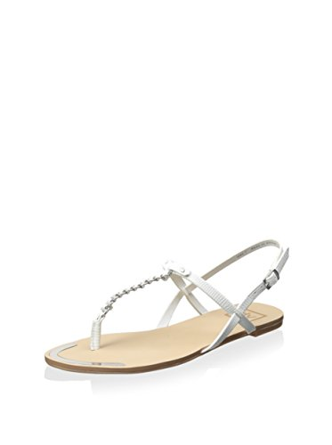Dolce Vita Vrouwen Dawsyn Witte Hagedissen Sandaal 7,5 M