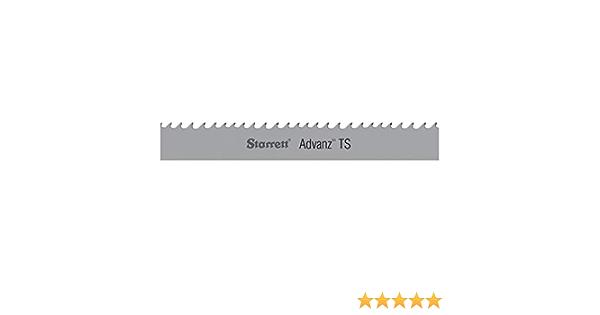 "STARRETT 91340-09-03 Band Saw Blade,111/"" Blade L"
