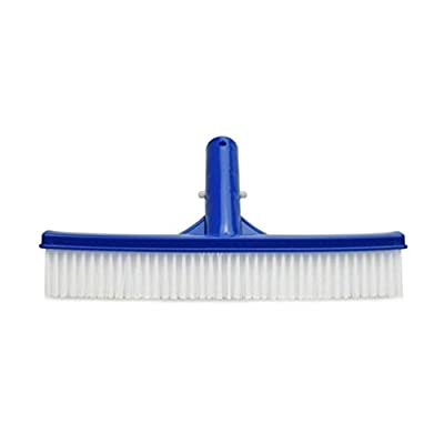 Dartphew Swimming Pool,Dartphew Swimming Pool Cleaning Brush Algae Floor & Wall Handheld Robust Construction Wide Brush Effective Cleaning Tool Accessories for Spa Swimming Pools (Blue)