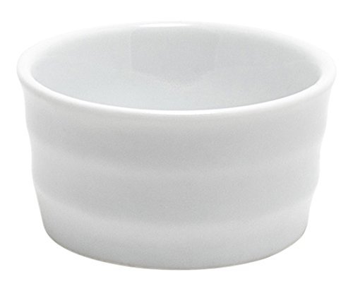 Front of the House ASC027WHP24 FOH, Ribbed Cup/Ramekin, 1.25