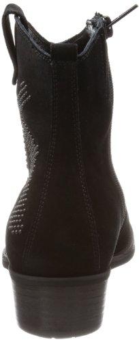 Kennel En Schmenger Schoen Fabriek Mao 61-34660.240 Dames Cowboylaarzen Zwarte (black)