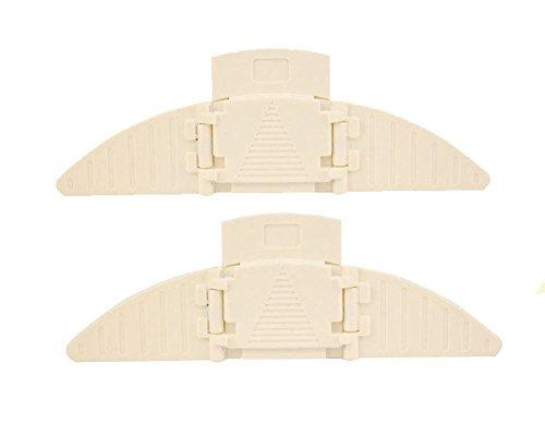 IBEET Sliding Closet Door Lock Sliding Window Stopper Wedge Locks Security for Baby (Sliding Closet Mirrored Doors)