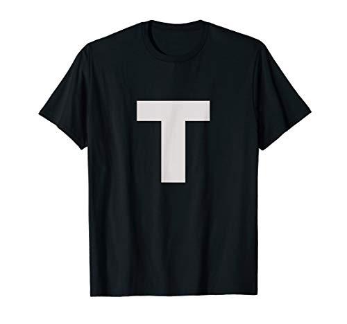 Letter T T Shirt For Lettering Funny Spelling Words Phrases]()