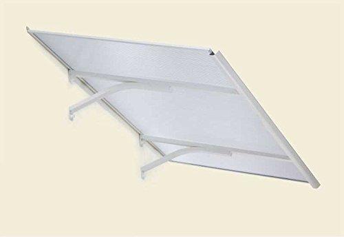 Palram Columba 1600 Maße (L x B x H): 160 x 83 x 24,7 cm Fläche: 1,33 m² Glas: 4 mm Hohlkammerplatten aus Polycarbonat Profile: Aluminium