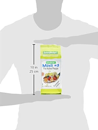 Amazon.com: Seitenbacher Muesli Cereal #3 - For Active People - Fruit Mix 16 Ounce (Pack of 6): Breakfast Muesli Cereals