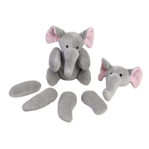 Rippys Pull Apart Elephant Dog Toy-- -