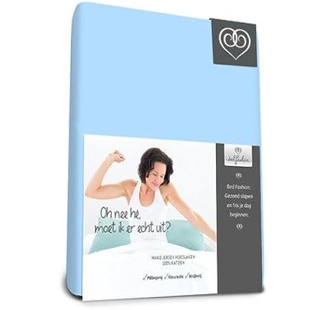 Color Blanco Bed-Fashion Topper S/ábana Bajera Jersey /único 90/x 210/cm